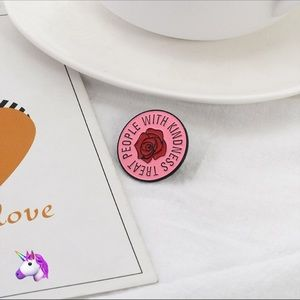 Accessories - NEW Pink Kindness Pin - 4 for $20